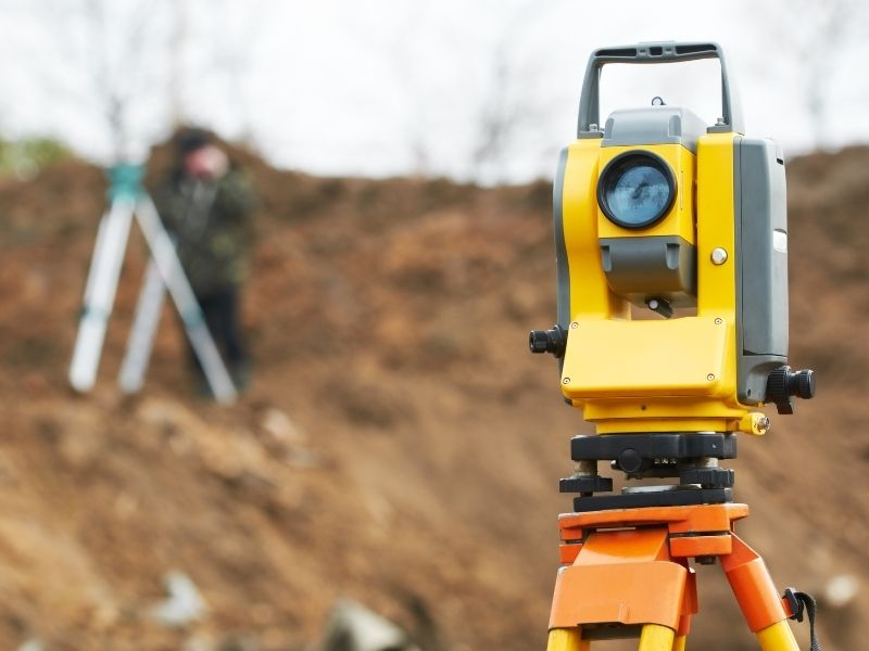 M.J. Reddie Surveys use the latest technology for their surveying equipment